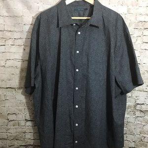 Perry Ellis men's short sleeve button up shirt 3X